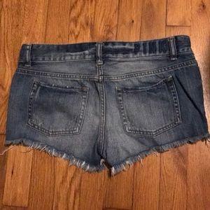 Victoria Secret jean shorts